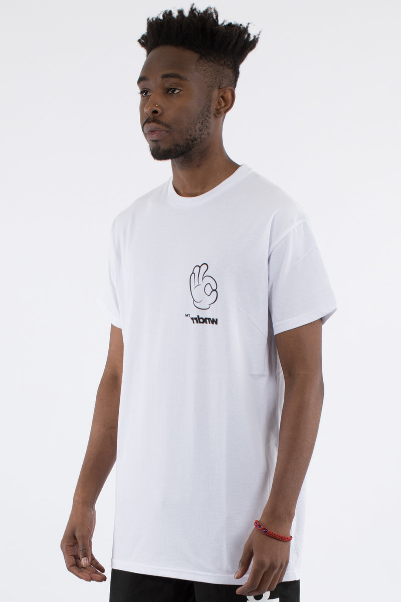 OH KAY CUSTOM FIT TEE - WHITE