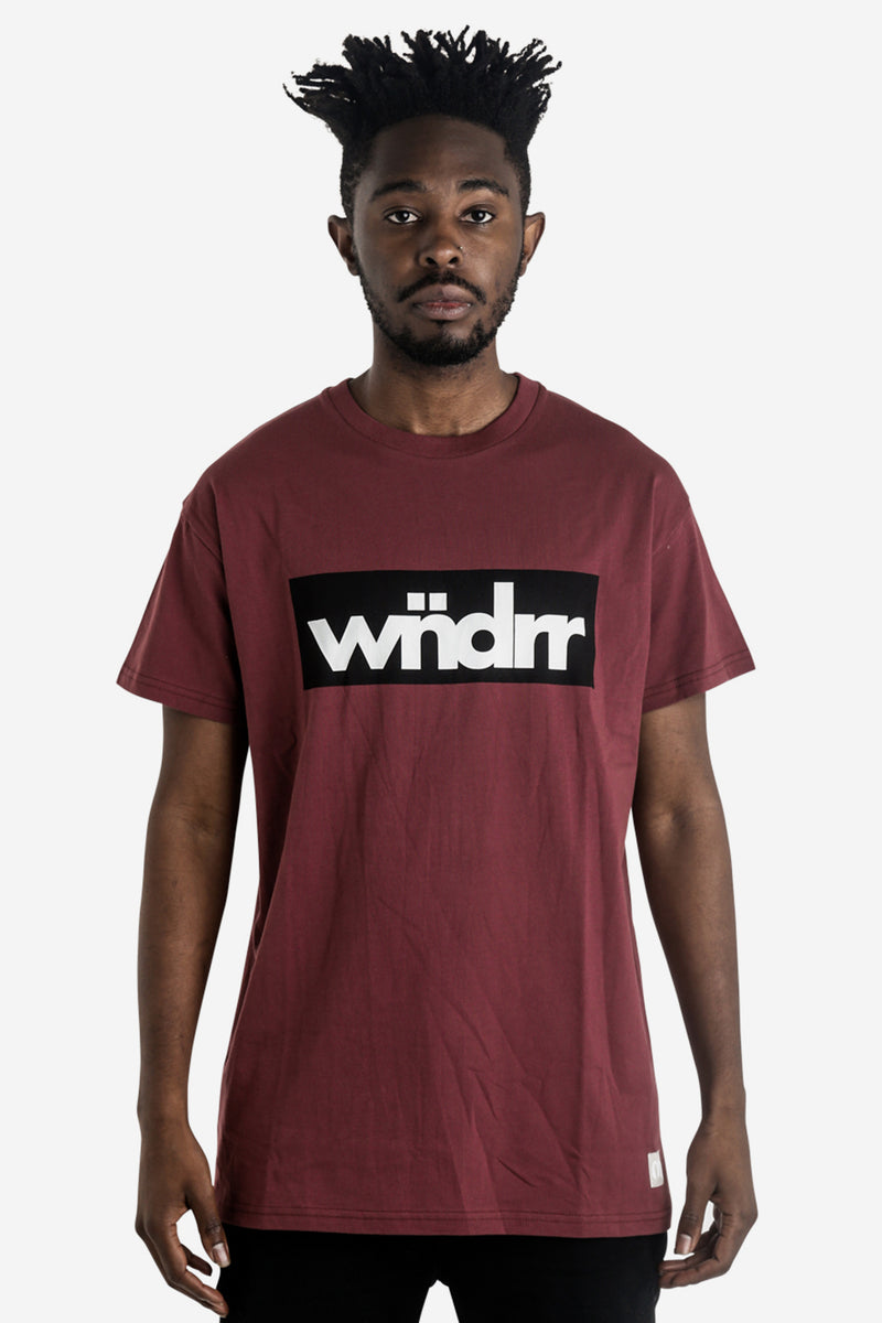 ACCENT CUSTOM FIT TEE - BURGUNDY