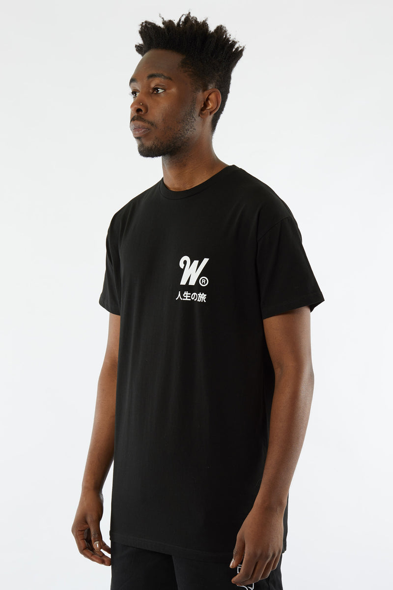 CAPITAL CUSTOM FIT TEE - BLACK