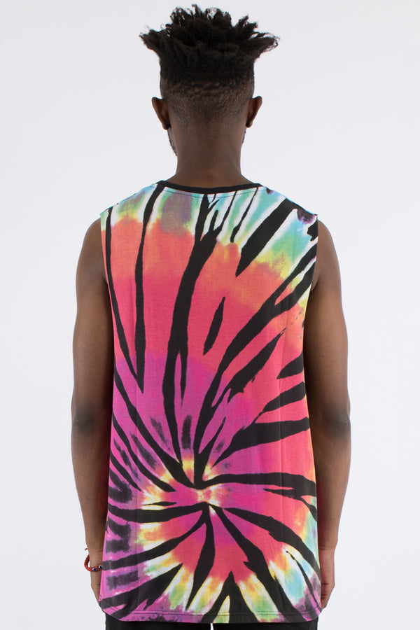 COLE COLOURED MUSCLE TOP - MULTI