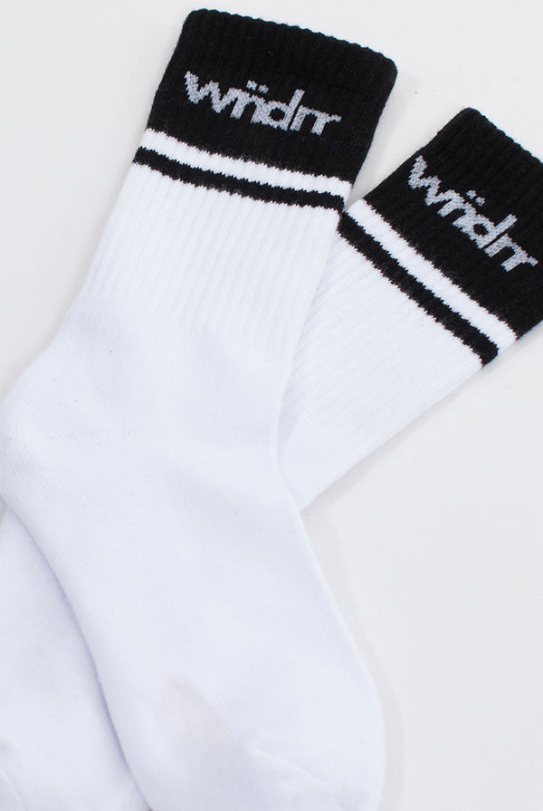 MIRAGE SOCKS 3 PK - WHITE