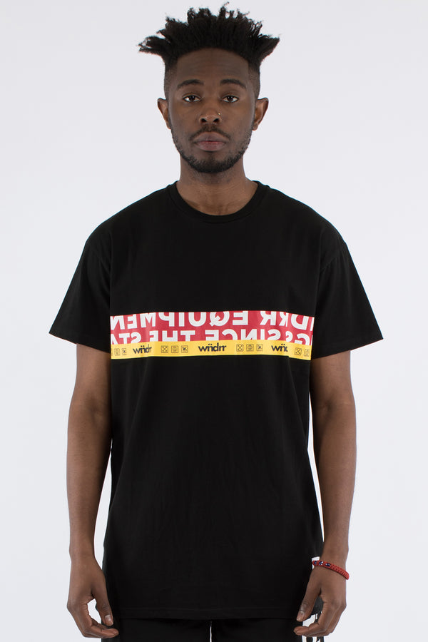 HIGHLINE CUSTOM FIT TEE - BLACK