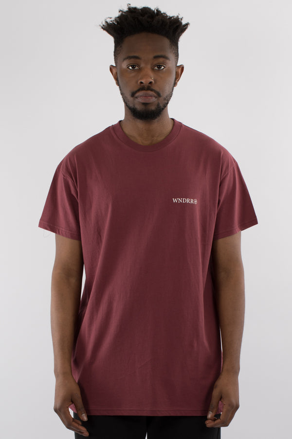 TREATS CUSTOM FIT TEE - BURGUNDY