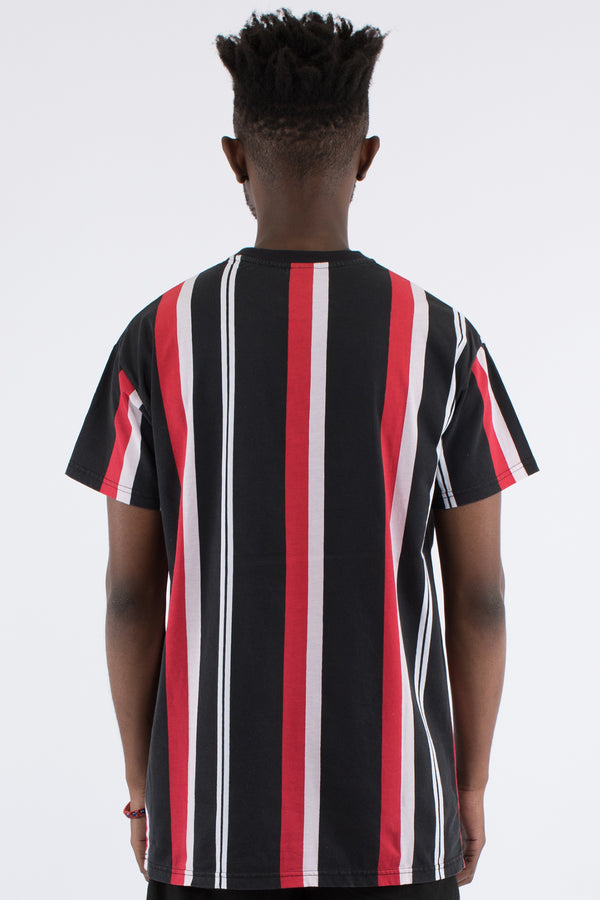 HEIGHTS VERT STRIPE TEE - MULTI