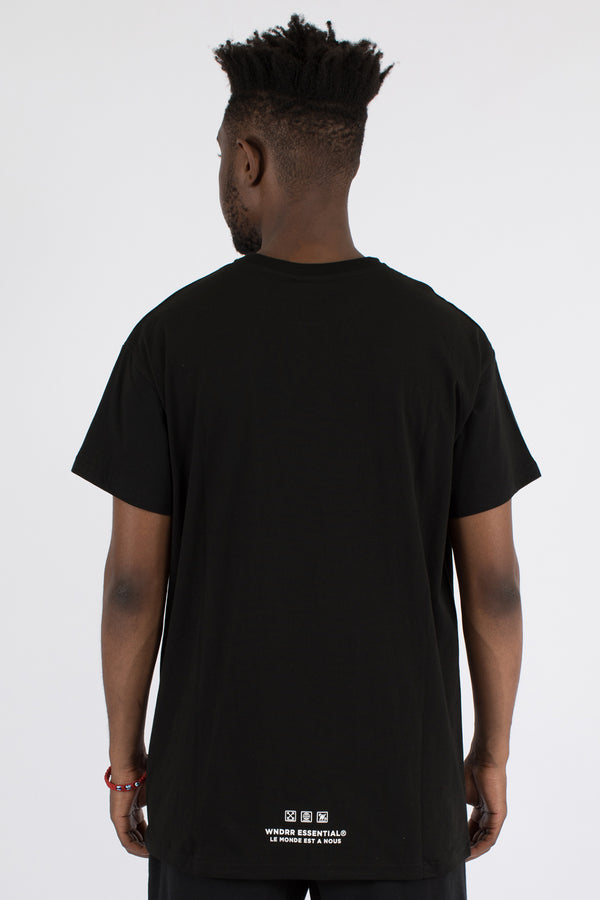 MODE CUSTOM FIT TEE - BLACK