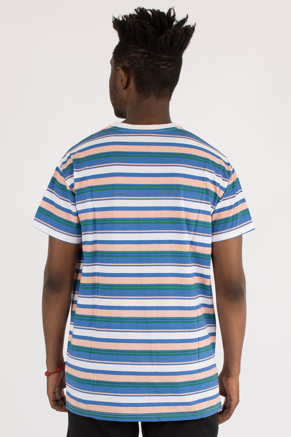 SAINT STRIPE CUSTOM FIT TEE - MULTI