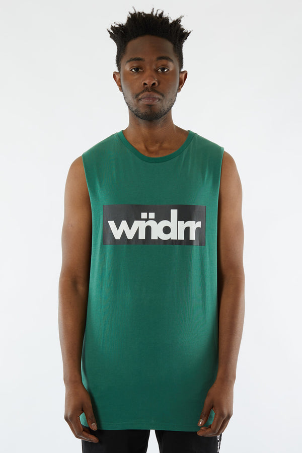 TONE MUSCLE TOP - FOREST GREEN