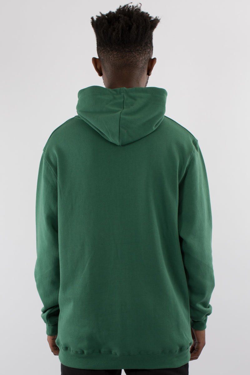 RADAR HOOD SWEAT - FOREST GREEN