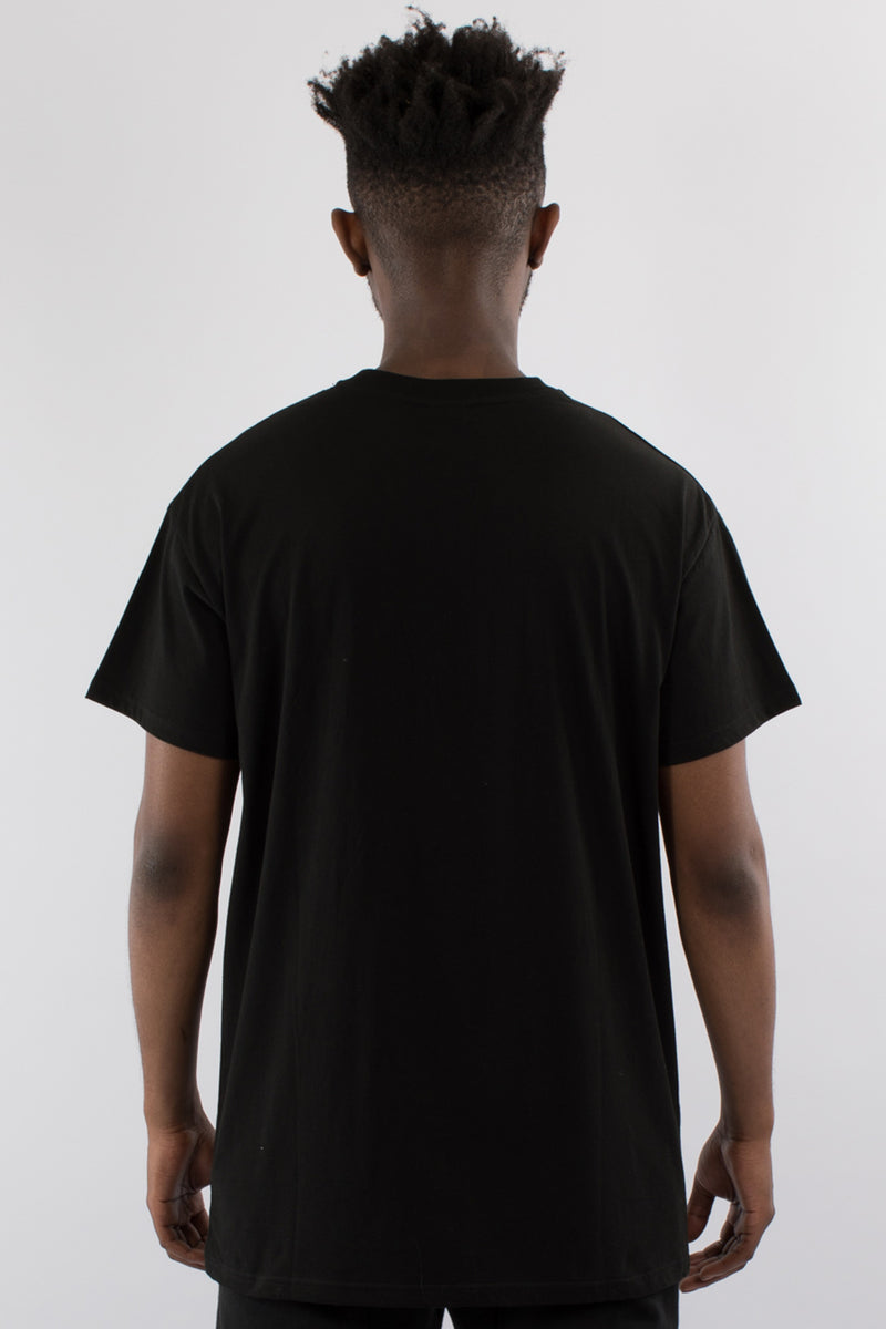DEPARTURE CUSTOM FIT TEE - BLACK
