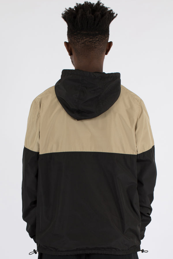 HIJACK SPRAY JACKET - BLACK/TAN/WHITE