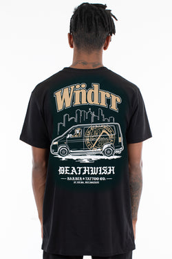 DEATHWISH COLLAB TEE - BLACK