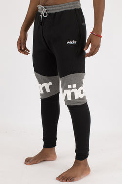 TENTACION TECH TRACKPANT - BLACK/GREY
