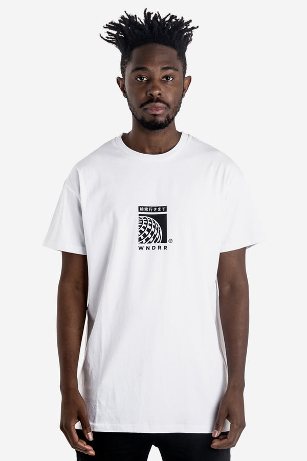 SHUTTLE CUSTOM FIT TEE - WHITE