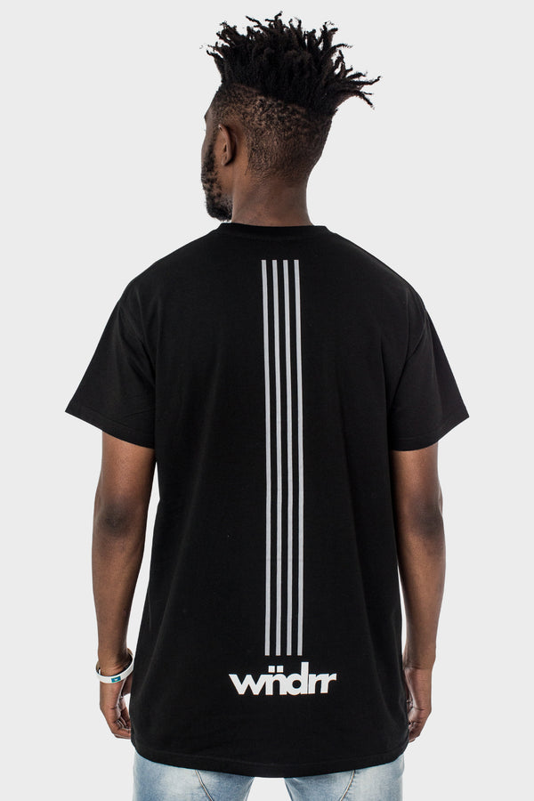 PARALLEL CUSTOM FIT TEE - BLACK