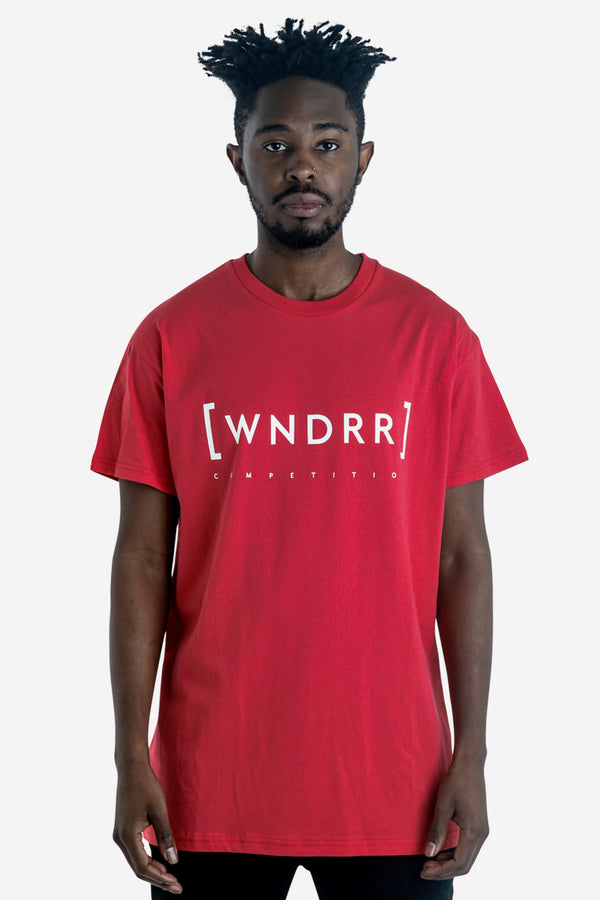 CAGED CUSTOM FIT TEE - RED