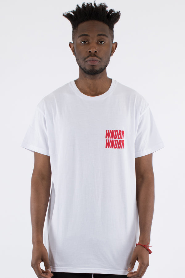 VANDALS CUSTOM FIT TEE - WHITE