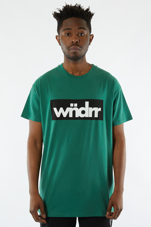 ACCENT CUSTOM FIT TEE - FOREST GREEN