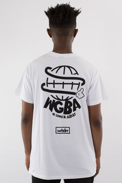 WGBA CUSTOM FIT TEE - WHITE