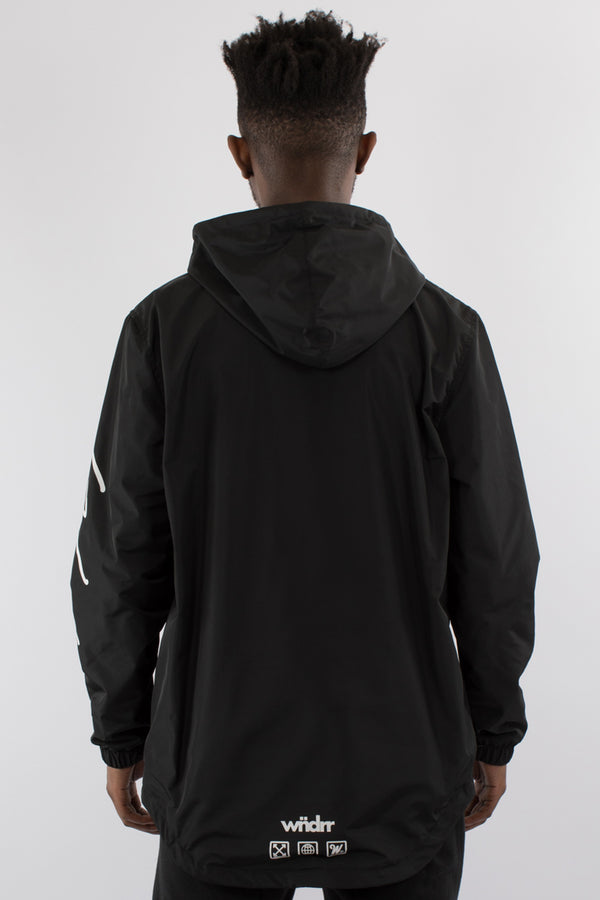 TYRANT SCOOP TAIL SPRAY JACKET - BLACK
