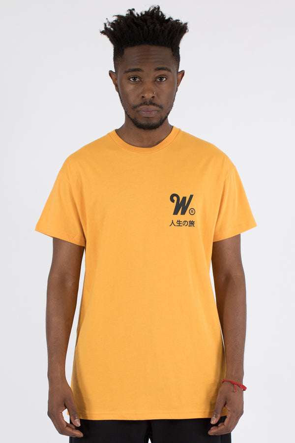 CAPITAL CUSTOM FIT TEE - YELLOW