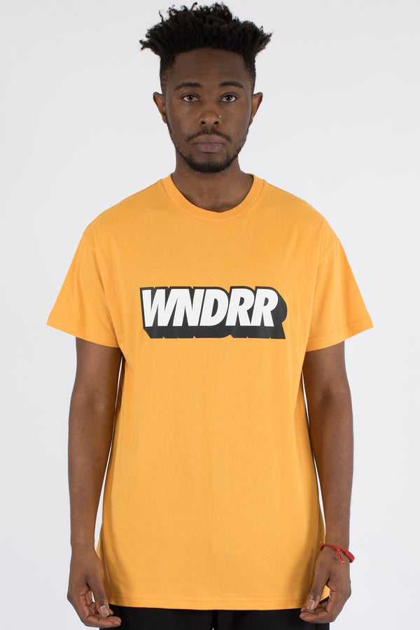 HANDLE CUSTOM FIT TEE - YELLOW