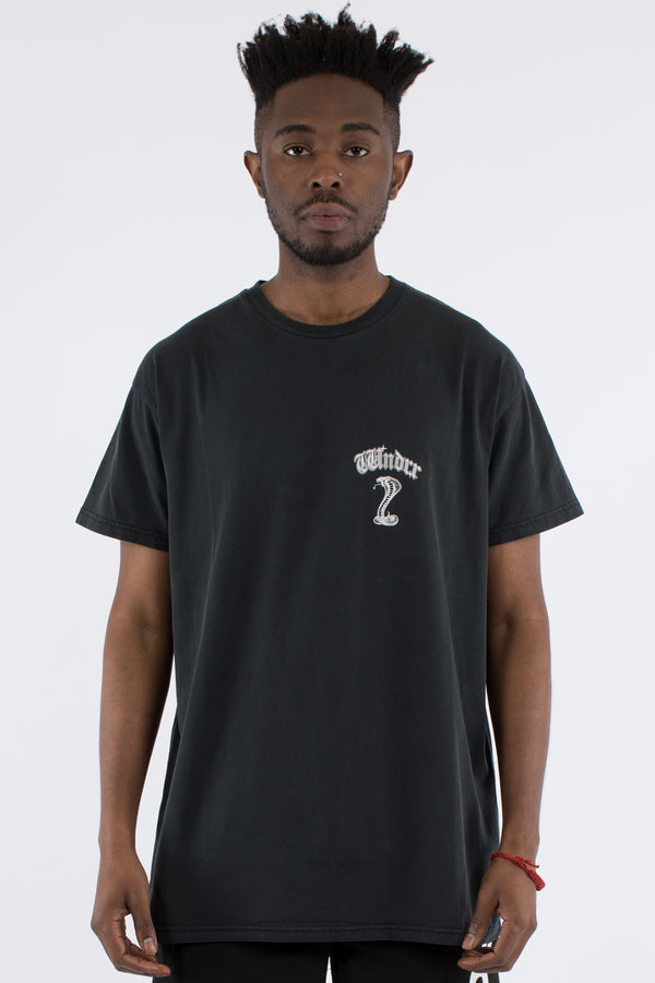 COBRA CUSTOM FIT TEE - BLACK