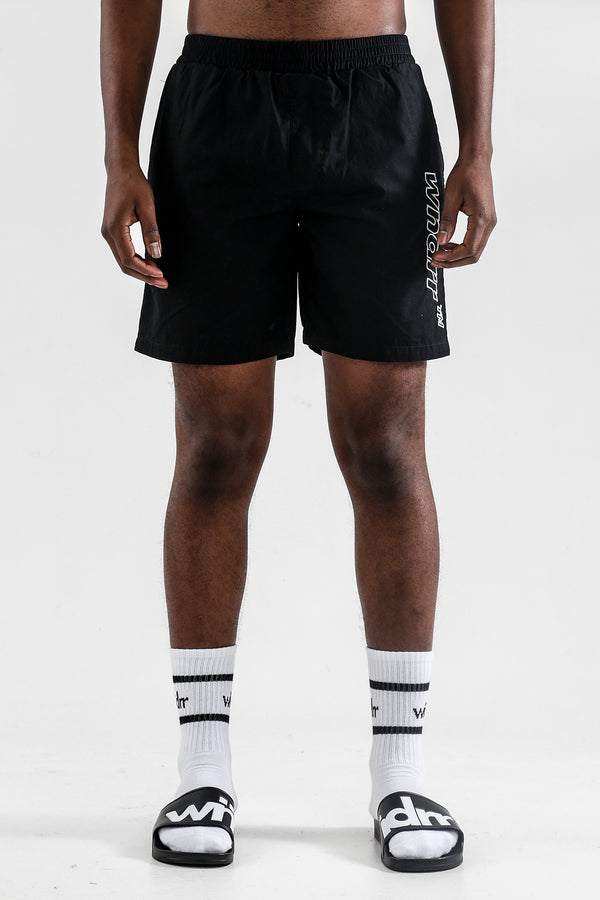 AMALFI TASLON SHORT - BLACK