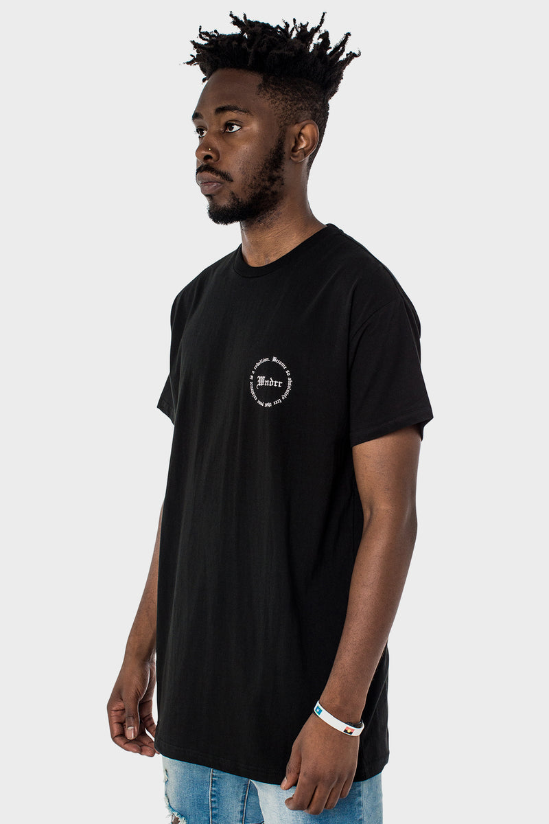 VENOM CUSTOM FIT TEE - BLACK