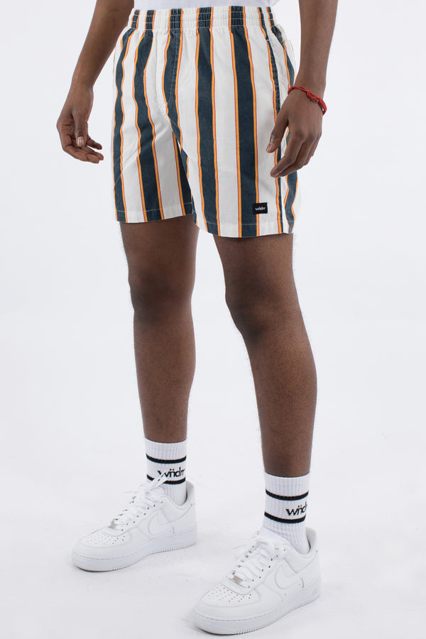 RERUN STRIPE BEACH SHORT - MULTI