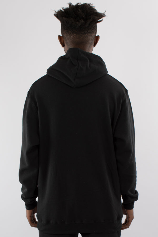 EQUIP HOOD SWEAT - BLACK