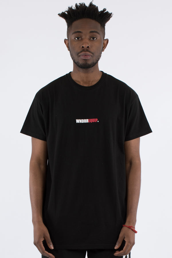 MOTION CUSTOM FIT TEE - BLACK