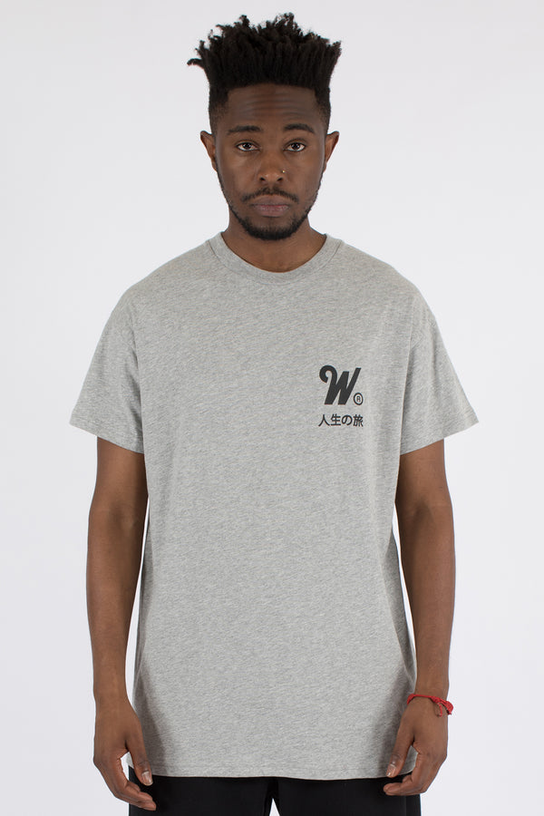 CAPITAL CUSTOM FIT TEE - GREY MARLE