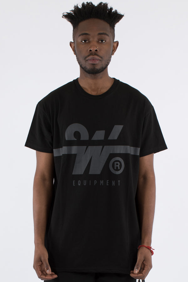 O.T. CUSTOM FIT TEE - BLACK