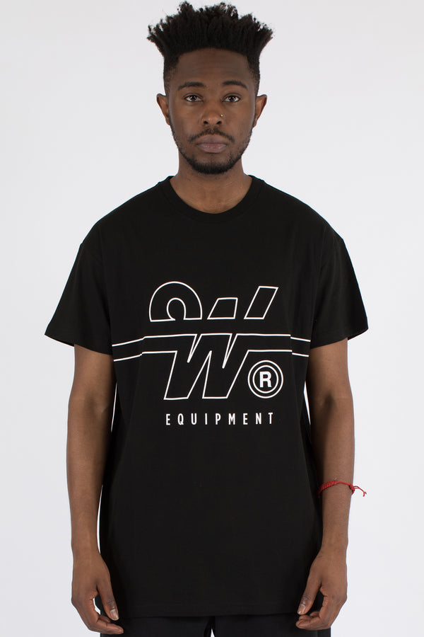 OVERTIME CUSTOM FIT TEE - BLACK