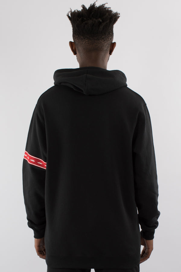 PHILLIPS HOOD SWEAT - BLACK