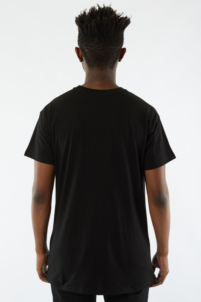 EQUIP CUSTOM FIT TEE - BLACK ON BLACK