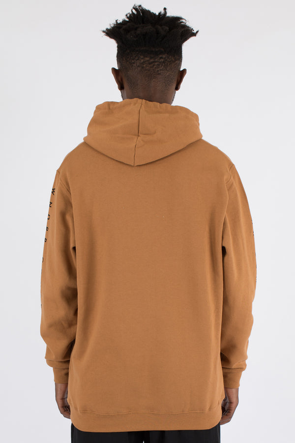 COVERT HOOD SWEAT - ALMOND