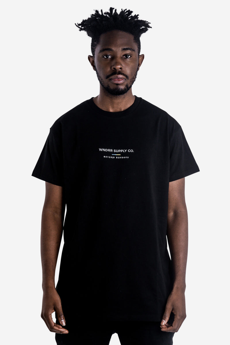SUPPLY CUSTOM FIT TEE - BLACK