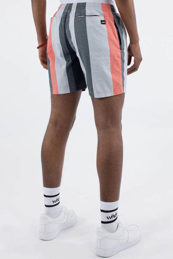 NATION STRIPE BEACH SHORT - MULTI