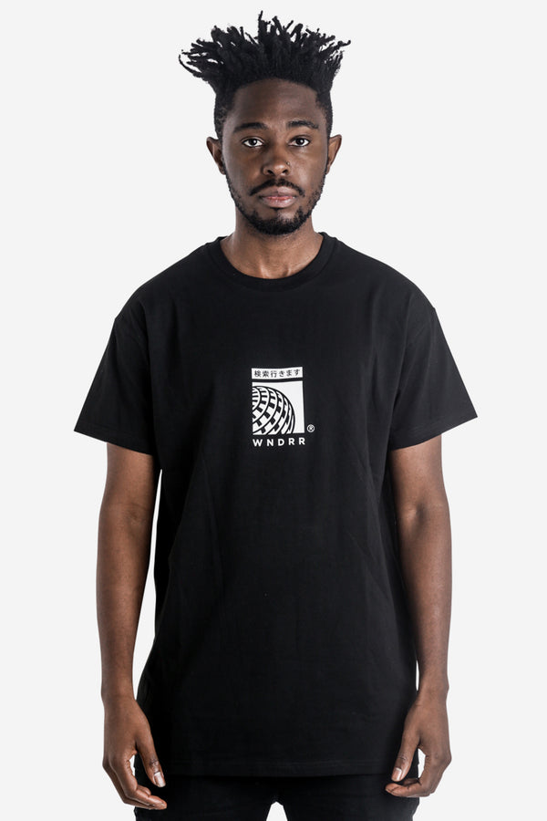 SHUTTLE CUSTOM FIT TEE - BLACK