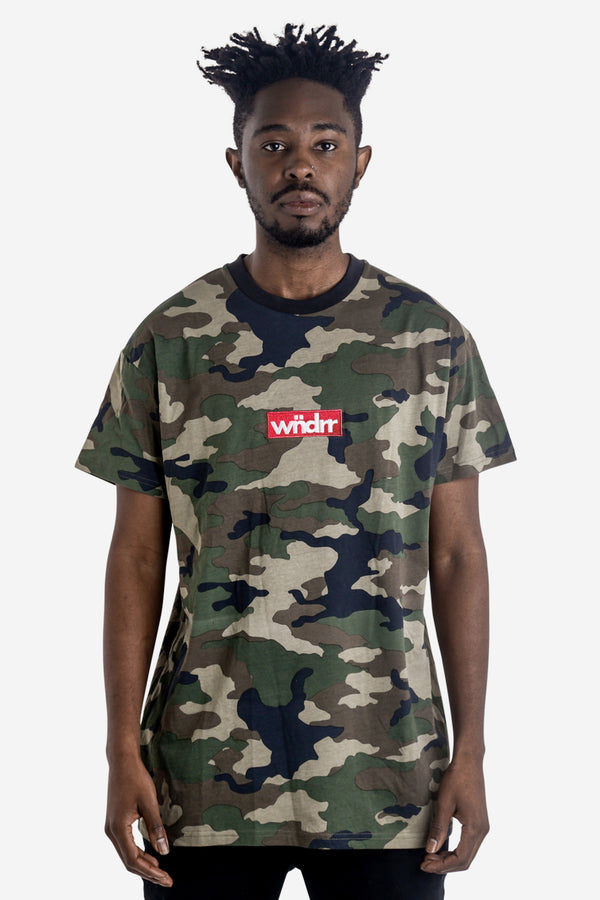 STAPLE CAMO CUSTOM FIT TEE - CAMO