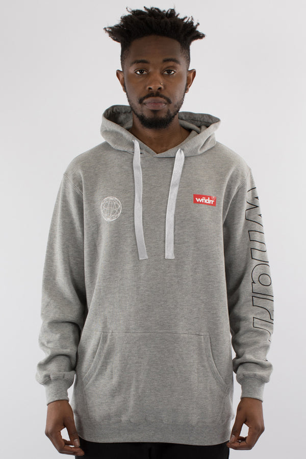UNDEFEATED HOOD SWEAT - GREY MARLE