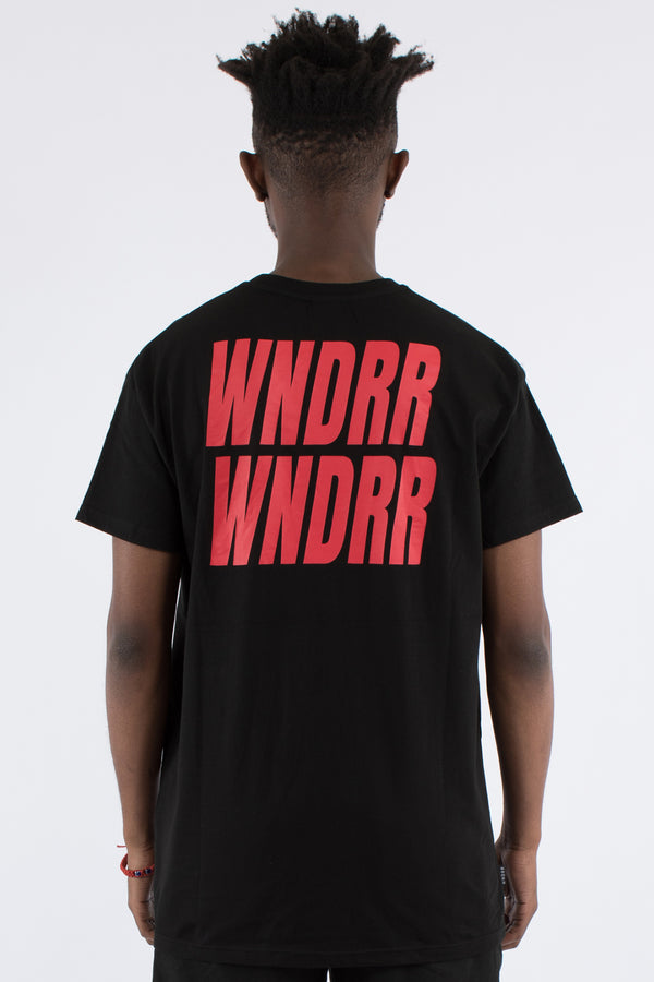 VANDALS CUSTOM FIT TEE - BLACK