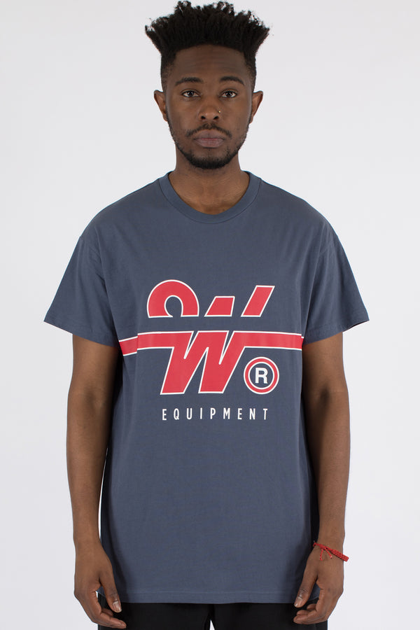 OVERTIME CUSTOM FIT TEE - NAVY