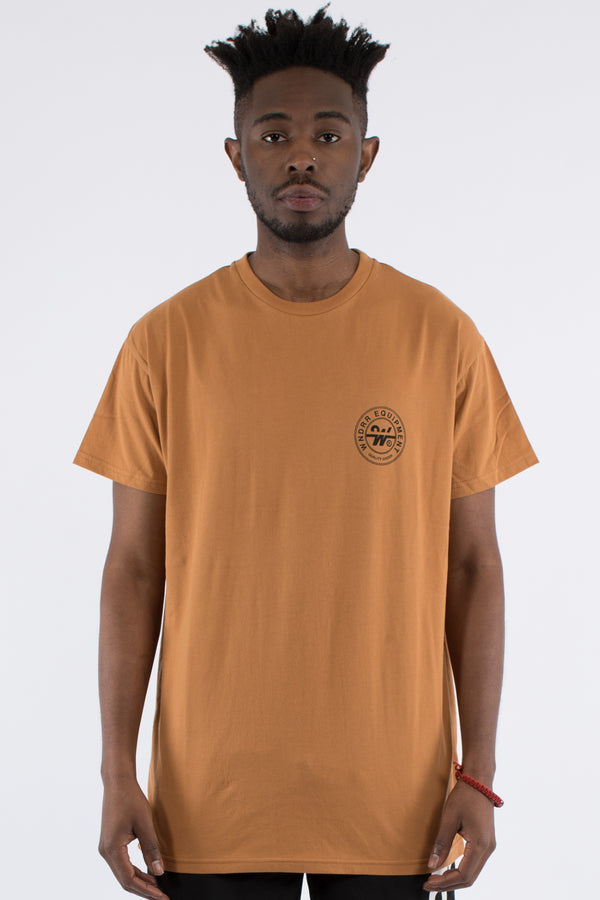 BANK CUSTOM FIT TEE - ALMOND