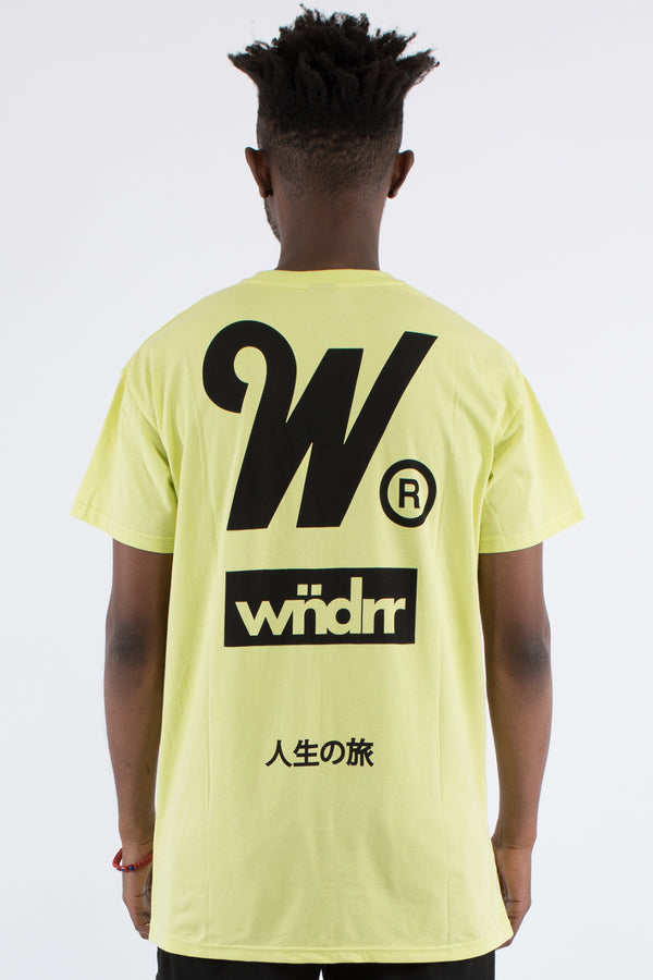 SPARK CUSTOM FIT TEE - FLURO GREEN