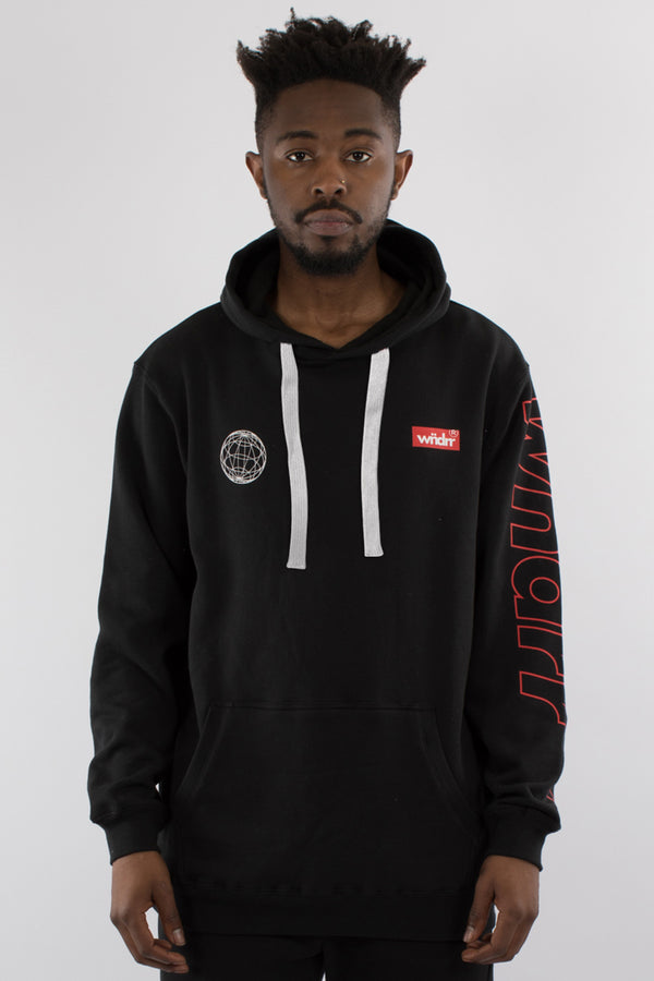 UNDEFEATED HOOD SWEAT - BLACK