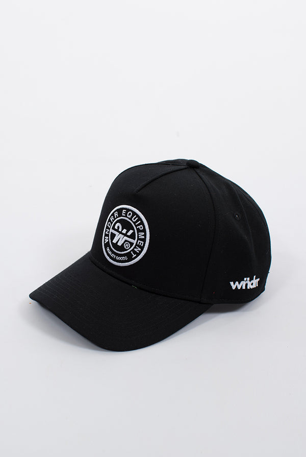 CLUTCH SNAPBACK CAP - BLACK