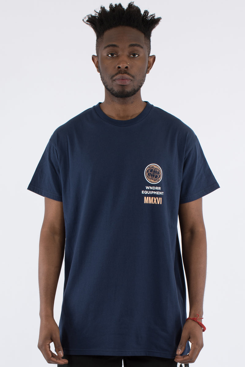 TIDAL CUSTOM FIT TEE - NAVY