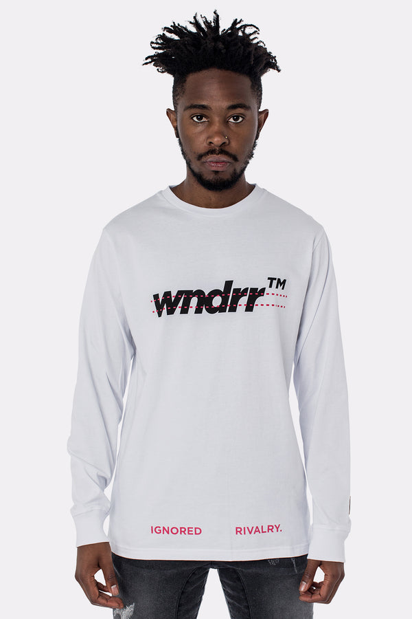 DISASSEMBLE LONG SLEEVE TEE - WHITE